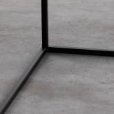 Tavolo Ausiliario Quadrato in Metallo (59x59 cm) Cubo, immagine in miniatura 5