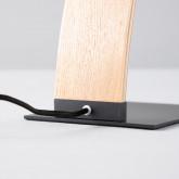 Lampada da Tavolo in Legno e Metallo Arque, immagine in miniatura 4