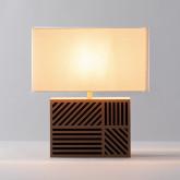 Lampada da Tavolo in Metallo Olmo, immagine in miniatura 3