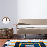Lampada da soffitto in legno Irisa, immagine in miniatura 2