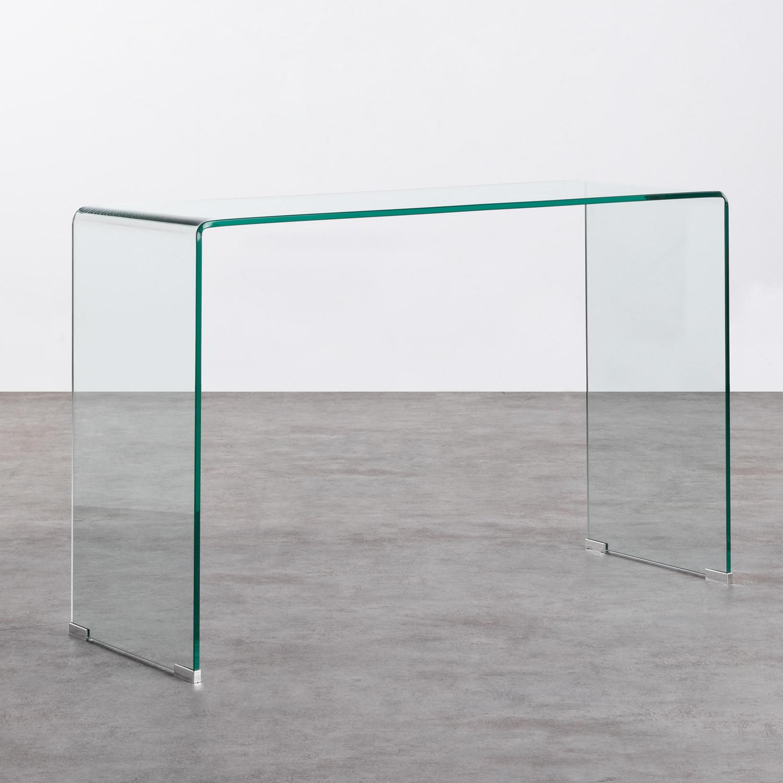 Consolle in Cristallo Temperato (120x40 cm) Gress, immagine della galleria 1