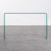 Consolle in Cristallo Temperato (120x40 cm) Gress, immagine in miniatura 3