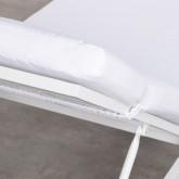 Sdraio Reclinabile in Tessuto e Alluminio Kabir, immagine in miniatura 9
