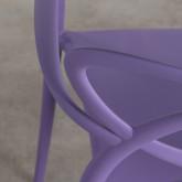 Sedia da Esterni in Polipropilene con Braccioli Cielo, immagine in miniatura 6