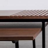 Set di  2 Tavolini in MDF Legre, immagine in miniatura 6