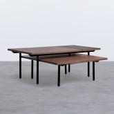 Set di  2 Tavolini in MDF Legre, immagine in miniatura 1