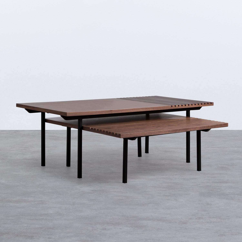 Set di  2 Tavolini in MDF Legre, immagine della galleria 1