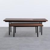 Set di  2 Tavolini in MDF Legre, immagine in miniatura 3