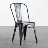 Sedia in Metallo Galvanizado Industrial, immagine in miniatura 1