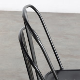Sedia in Metallo Galvanizado Industrial, immagine in miniatura 6